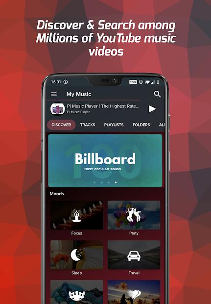 Screenshots Pi Music Player - MP3 Player: Ứng dụng nghe, cắt và chỉnh sửa nhạc hay