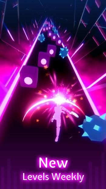 Screenshots Beat Blade Dash Dance - Con đường EDM   Game chơi nhạc trên điện thoại