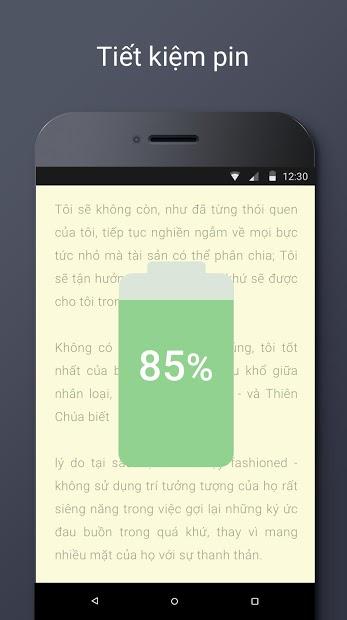 Screenshots Blue Light Filter - Ứng dụng bảo vệ mắt chống tia sáng xanh