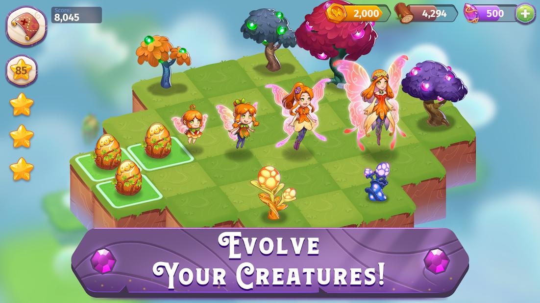 Screenshots Merge Magic! - Đảo phép thuật | Game trang trí online trên điện thoại