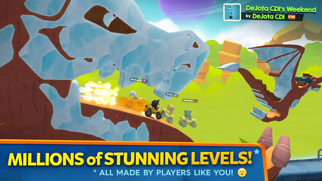 Screenshots Big Bang Racing - Game đua xe vượt chướng ngại vật
