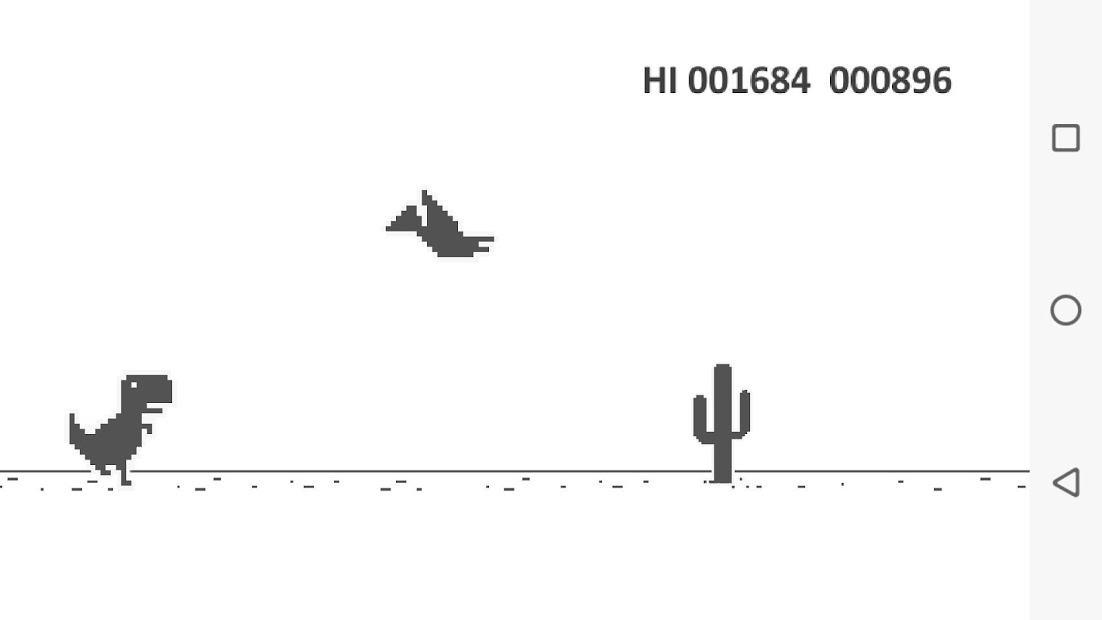 Screenshots Dino T - Rex Game khủng long mất mạng giải trí trên điện thoại
