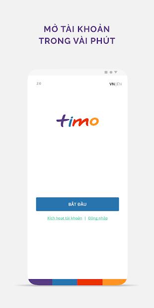 Screenshots Timo Plus: Ứng dụng ngân hàng số miễn phí, tiện lợi