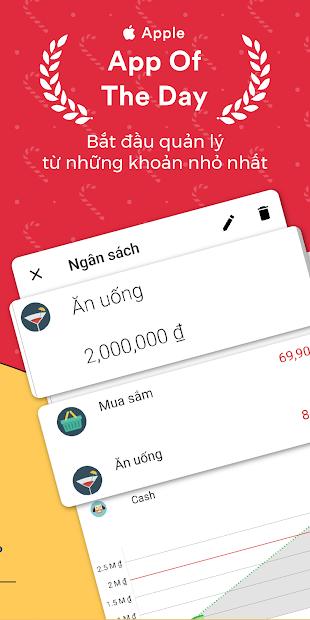Screenshots Money Lover: Ứng dụng quản lý chi tiêu cá nhân, gia đình
