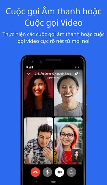 Screenshots Signal App - Ứng dụng nhắn tin riêng tư, bảo mật cao miễn phi