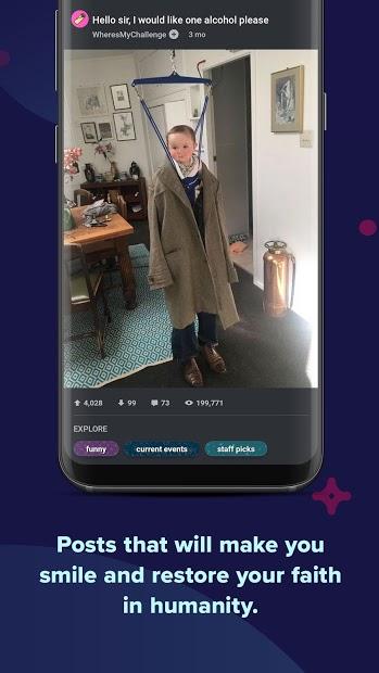 Screenshots Imgur - Ứng dụng upload và lưu trữ hình ảnh trên Internet