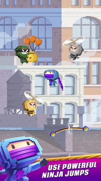 Screenshots Ninja Up! - Nhảy phiêu lưu bất tận: Game Ninja vui nhộn