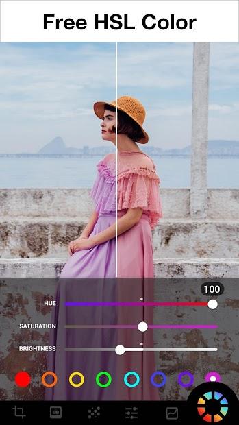 Screenshots Lumii: Ứng dụng chỉnh sửa, thêm bộ lọc, hiệu ứng độc đáo cho ảnh đẹp