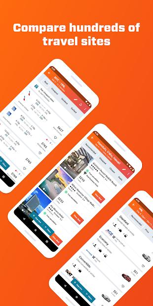 Screenshots KAYAK App - Ứng dụng tìm, đặt vé máy bay, phòng khách sạn, thuê xe