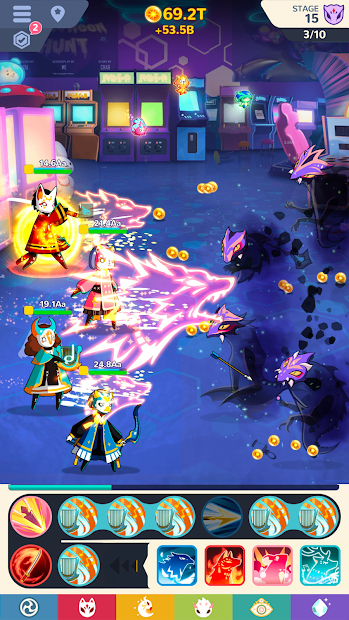 Screenshots Masketeers: Idle Has Fallen - Chiến binh mặt nạ | Game chiến thuật