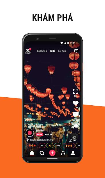Screenshots Triller Social Video - Ứng dụng mạng xã hội video, tạo video âm nhạc
