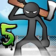 Anger of Stick 5: Zombie - Game hành động người que