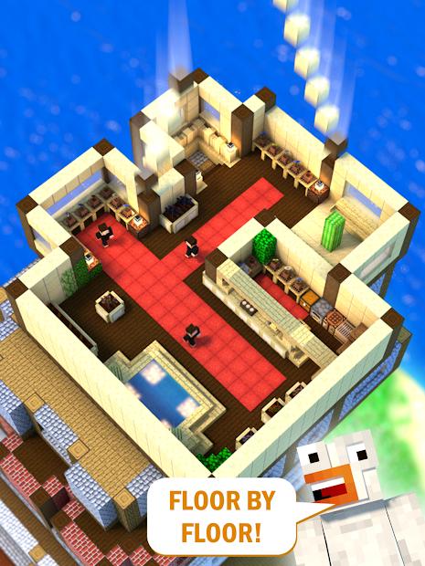 Screenshots Tower Craft - Chế Tạo Tháp 3D   Game Xây Dựng Tự Động