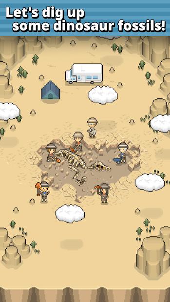 Screenshots Tải TAP! DIG! MY MUSEUM! - Bảo tàng di tích khủng long | Game mô phỏng