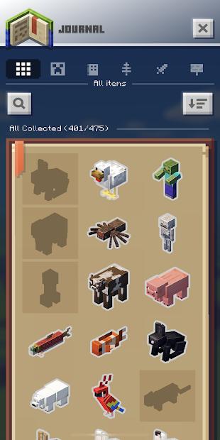 Screenshots Game Minecraft Earth - Khối lập phương ngoài đời thực