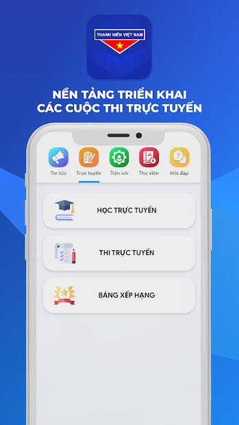 Screenshots App Thanh niên Việt Nam - Ứng dụng của thanh niên Việt Nam
