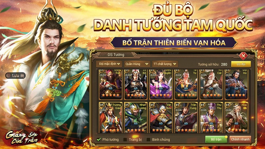 Screenshots Giang Sơn Của Trẫm