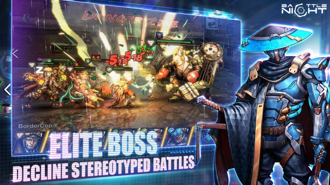 Screenshots Tải Battle Night: Cyber Squad-Idle RPG - Game chiến thuật
