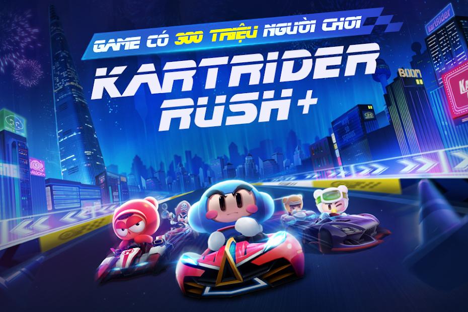 Screenshots Tải KartRider Rush+ Funtap - Đường đua vui nhộn | Game thể thao
