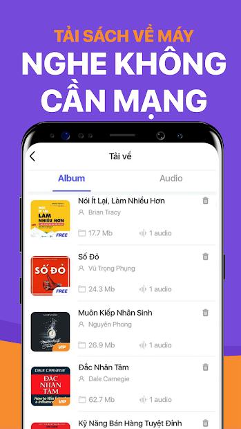 Screenshots Voiz FM - Ứng dụng nghe radio, sách nói bản quyền