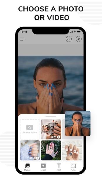 Screenshots Watermark - Ứng dụng chèn logo, chữ vào ảnh