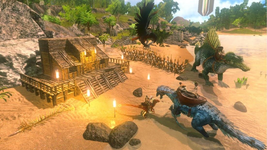 Screenshots ARK: survival evolved mobile - Sinh tồn trên đảo khủng long
