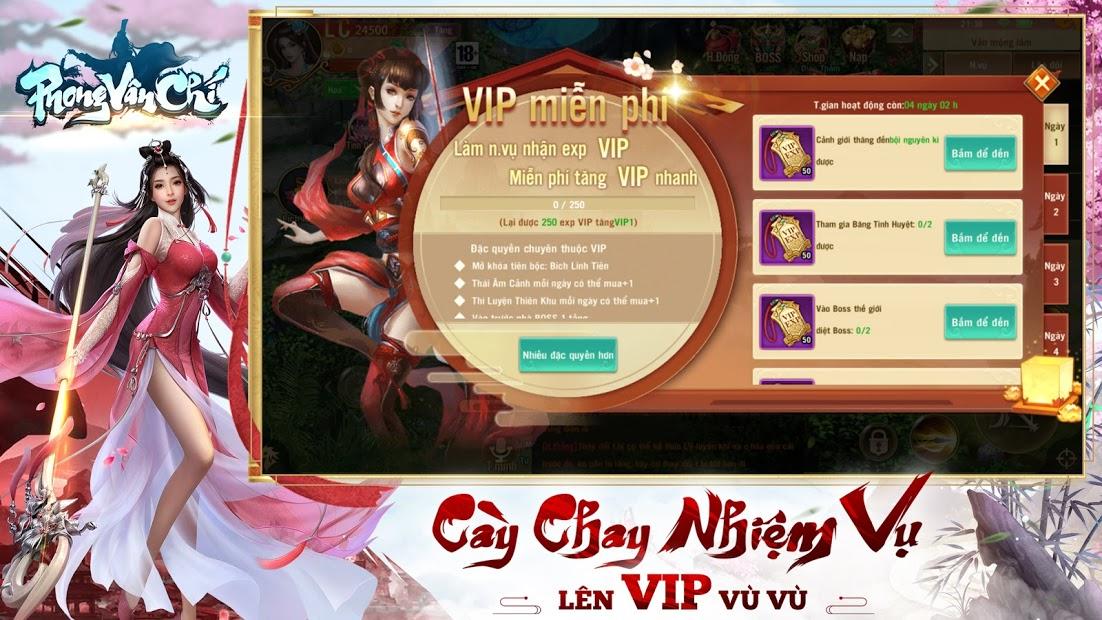 Screenshots Phong Vân Chí 20 năm truyền kỳ