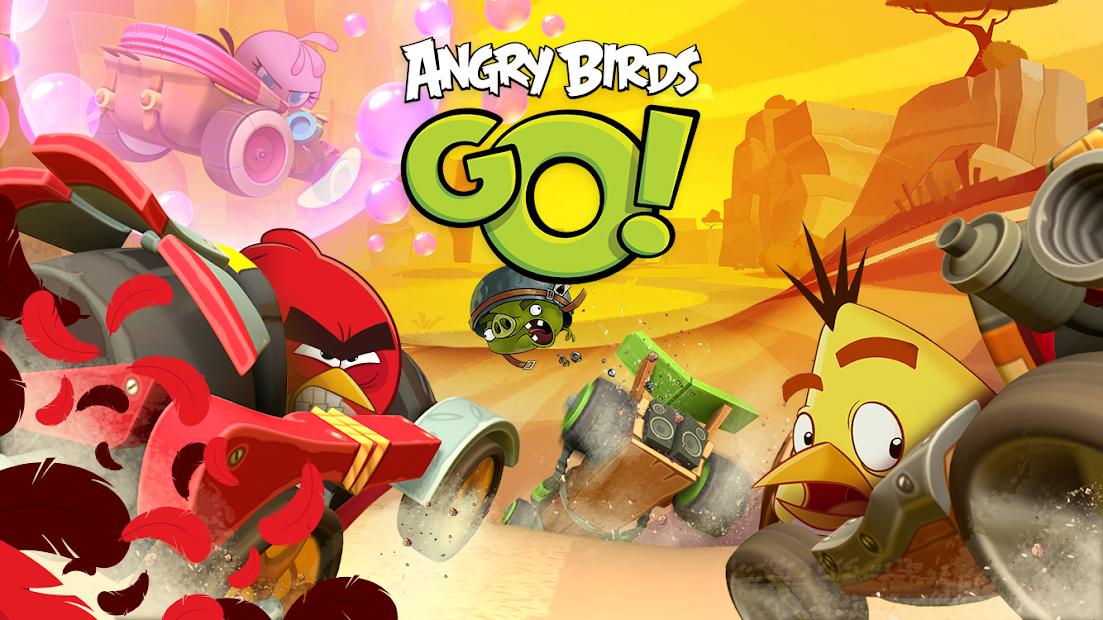 Screenshots Angry Birds Go: Đường đua của những chú chim nổi loạn