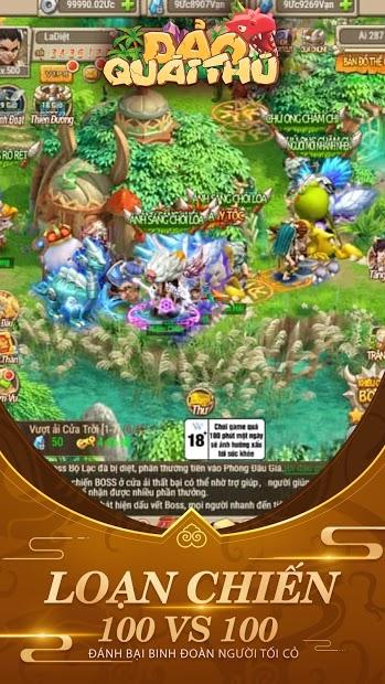Screenshots Đảo Quái Thú - Thợ săn tiền sử | Game RPG phiêu lưu