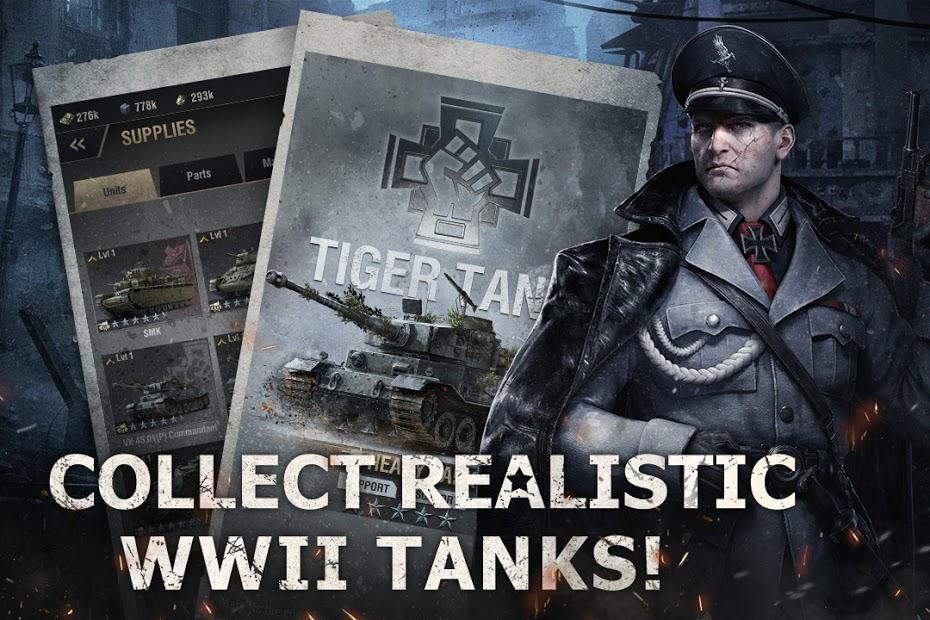 Screenshots Warpath - Chiến tranh thế giới thứ II | Game chiến thuật