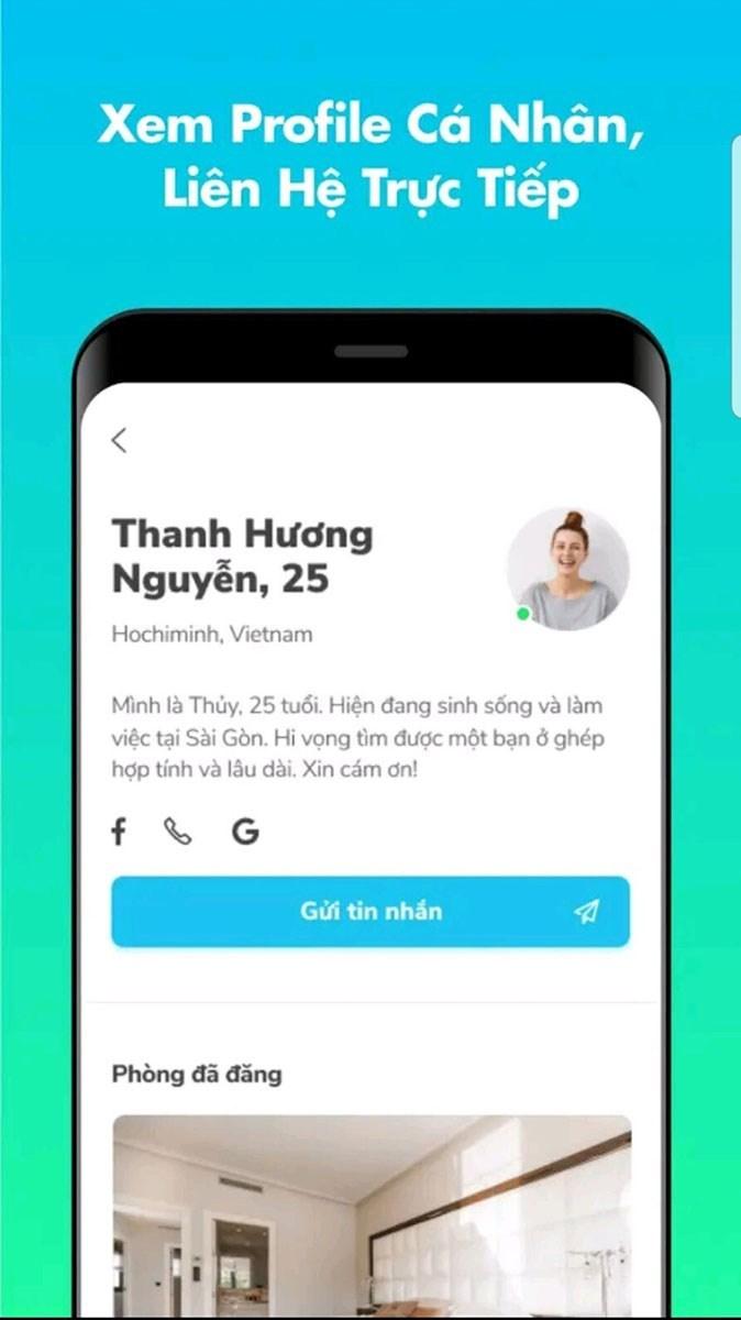 Screenshots Ohana - Ứng dụng tìm trọ, ở ghép an toàn, tiện lợi, hiệu quả