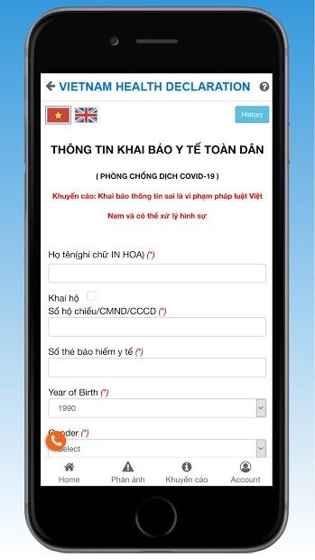 Screenshots Tải Vietnam Health Declaration: Tờ khai y tế phòng Covid-19