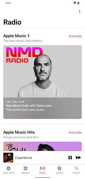 Screenshots Ứng dụng Apple Music: dịch vụ nghe nhạc cho fan nhà Táo Khuyết