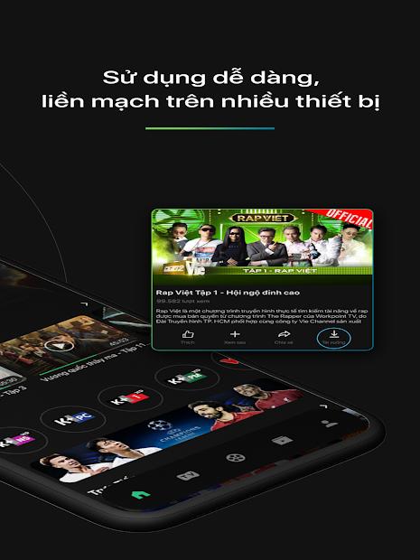Screenshots TV360: Ứng dụng xem tivi, các kênh K+ trực tiếp miễn phí