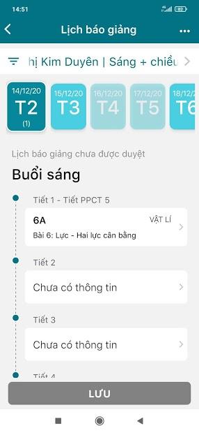 Screenshots SMAS: Ứng dụng quản lý lớp học, xem điểm số học sinh