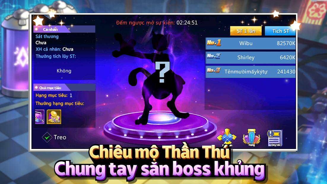 Screenshots Thần Thú 3D - Bảo bối đại chiến   Game mobile chuẩn Pokemon