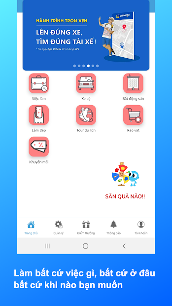 Screenshots HuNe - Ứng dụng kết nối nhu cầu mọi người