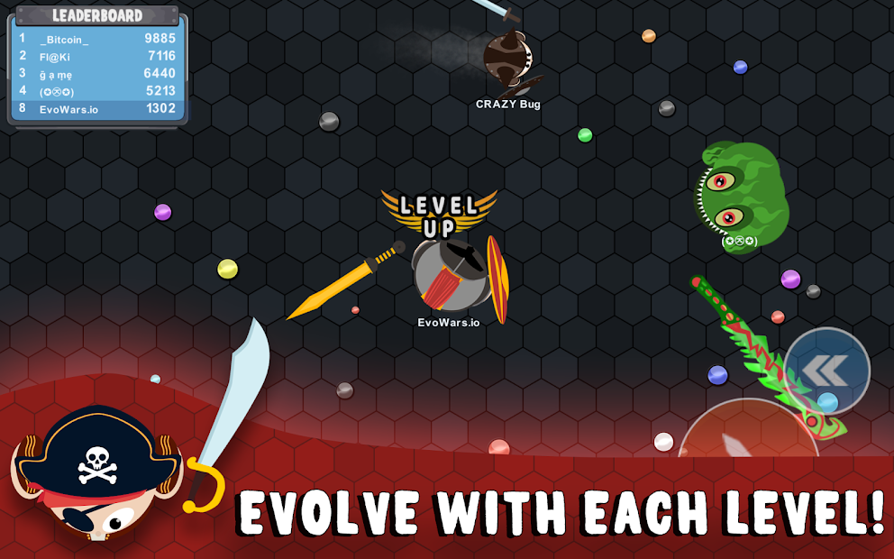 Screenshots EvoWars.io - Cuộc chiến sinh tồn | Game hành động thú vị