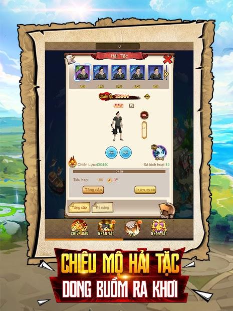 Screenshots Kho Báu Vô Tận - Đại Hải Trình One Piece | Game chiến thuật