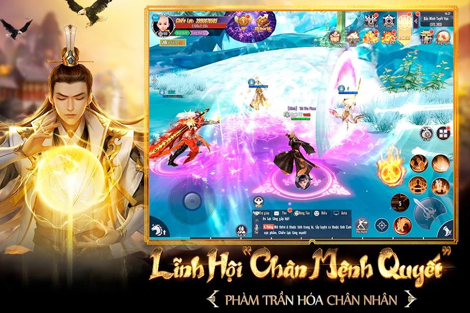 Screenshots Thương Khung Chi Kiếm Funtap - Game mobile kiếm hiệp