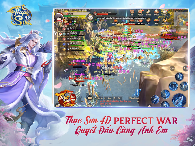 Screenshots Thục Sơn 4D - Perfect War: Game nhập vai MMORPG kinh điển