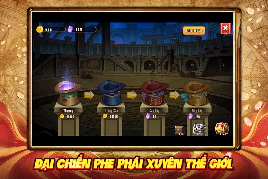 Screenshots Tải Đảo Kho Báu - Bá Vương Thức Tỉnh | Game chiến thuật thẻ bài