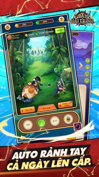 Screenshots Đại Hải Trình - Game đấu tướng One Piece