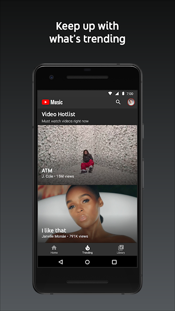Screenshots Youtube Music - Ứng dụng tận hưởng âm nhạc dành riêng cho bạn