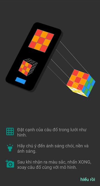 Screenshots ASolver - Ứng dụng giải đố Rubik, hướng dẫn chơi Rubik