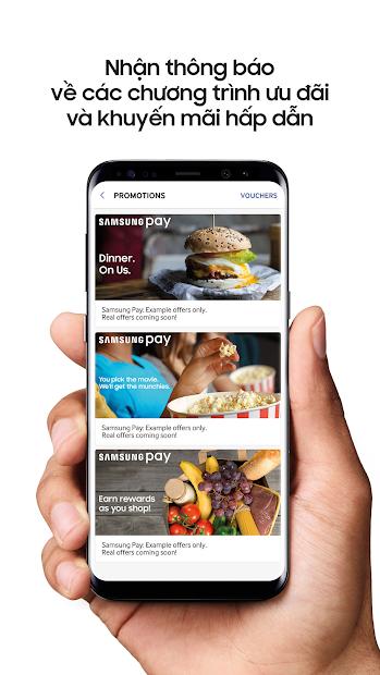 Screenshots Samsung Pay - Ứng dụng thanh toán một chạm thời thượng đến từ Samsung