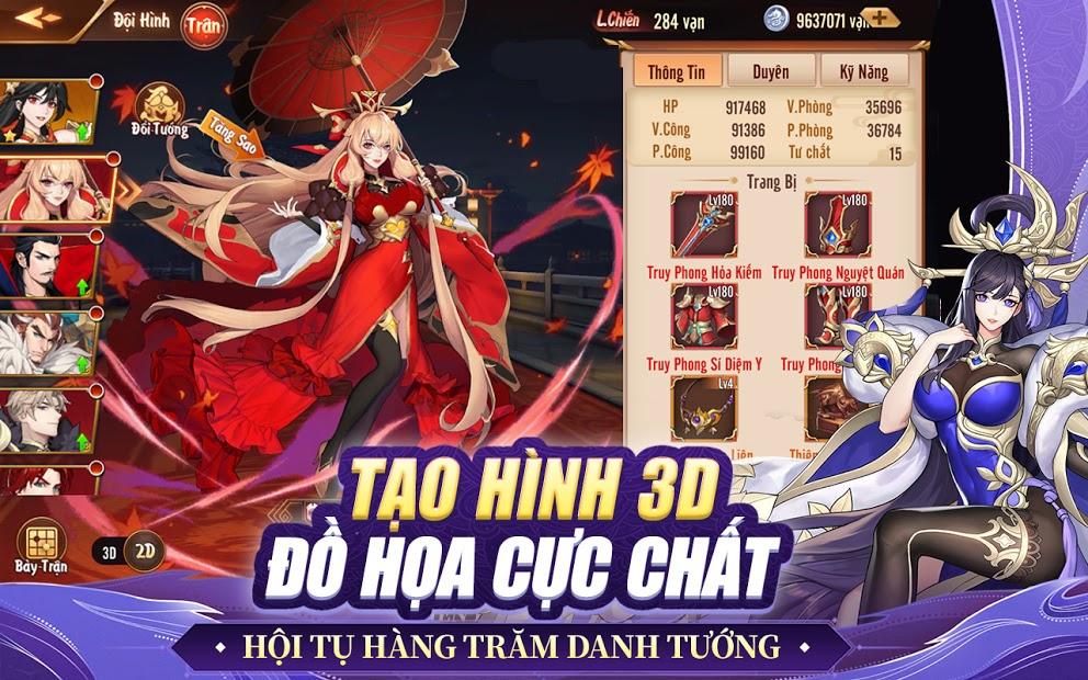 Screenshots Tân OMG3Q VNG - Game đấu tướng Tam Quốc thế hệ mới