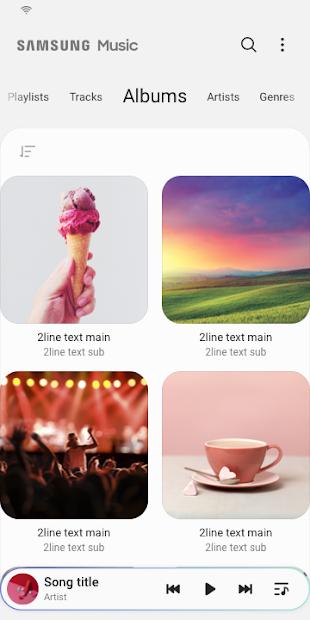 Screenshots Samsung Music: Ứng dụng nghe nhạc dành riêng cho thiết bị Samsung