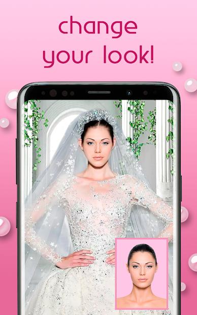 Screenshots Wedding Dress Photo - Ứng dụng ghép mặt cô dâu vào ảnh cưới
