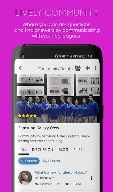 Screenshots Samsung+: Nền tảng học tập các sản phẩm của Samsung